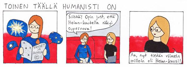 Toinen täällä humanisti on